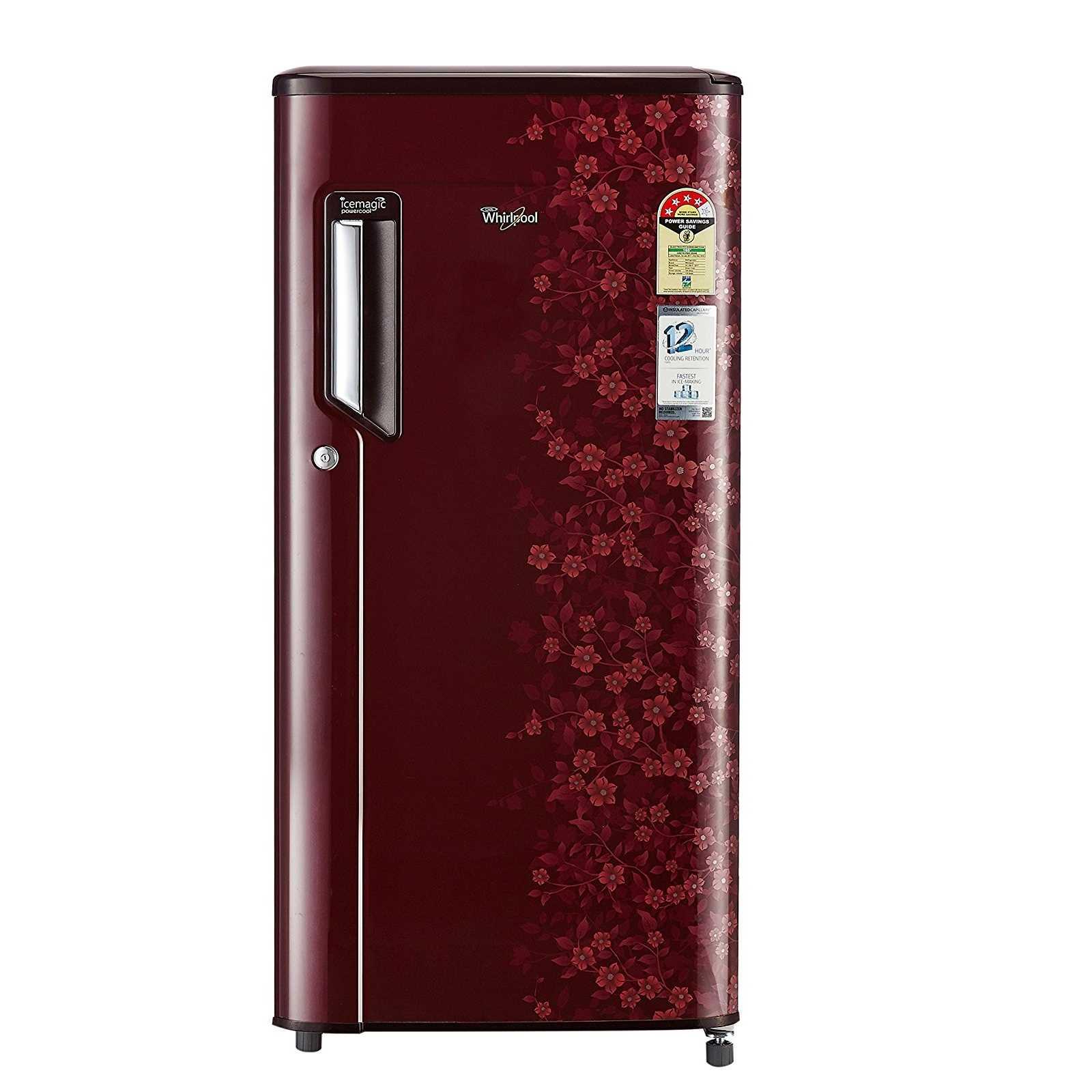 Whirlpool 215 IMPWCOOL PRM 4S 185 Litres Direct Cool Single Door Refrigerator