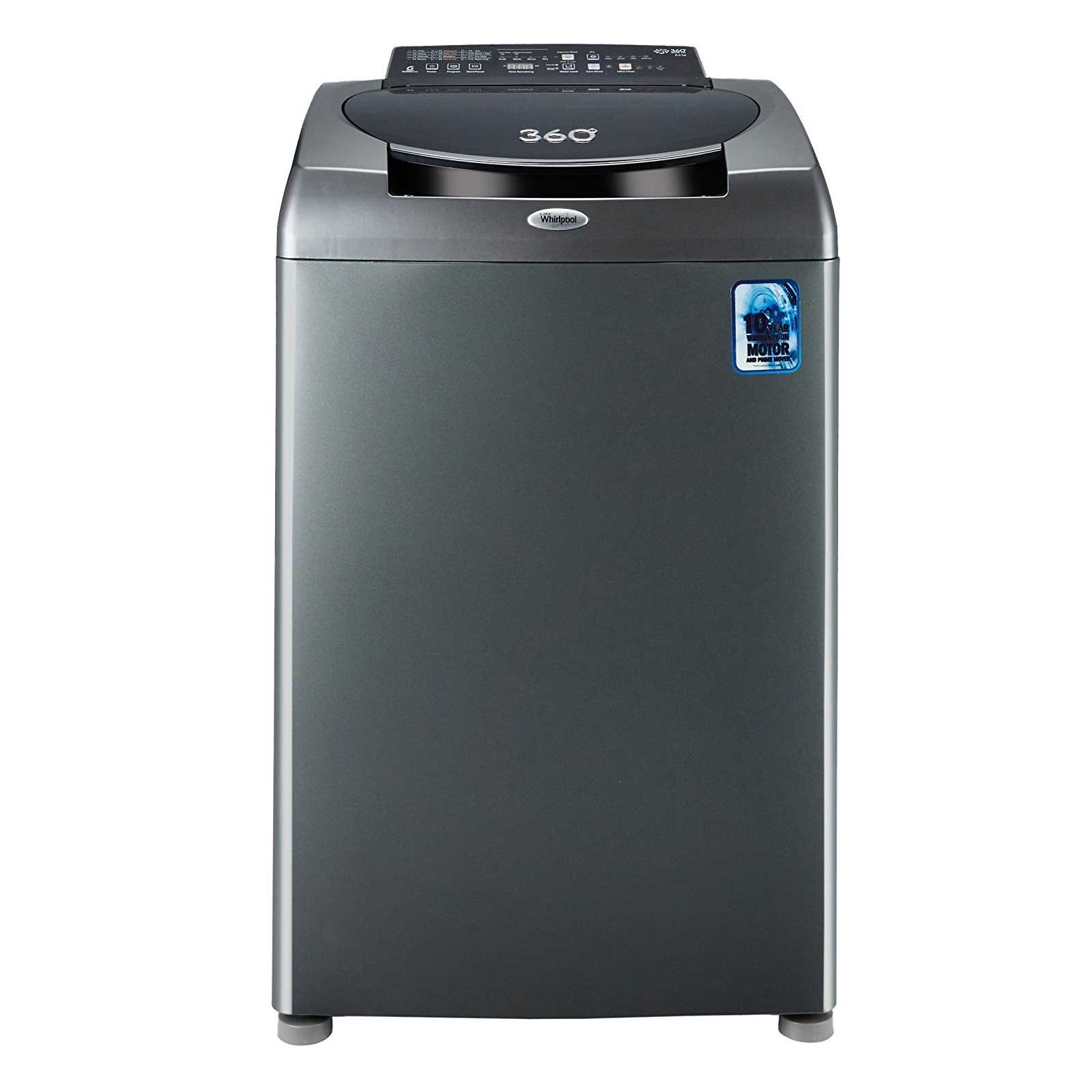 Whirlpool 360° Bloomwash Ultimate Care 8 Kg Fully Automatic Top Loading Washing Machine
