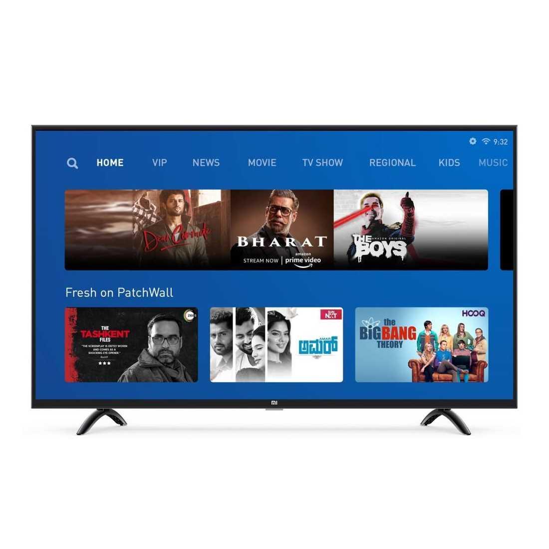 Xiaomi 4X L43M4-4AIN 43 Inch 4K Ultra HD Smart LED Television
