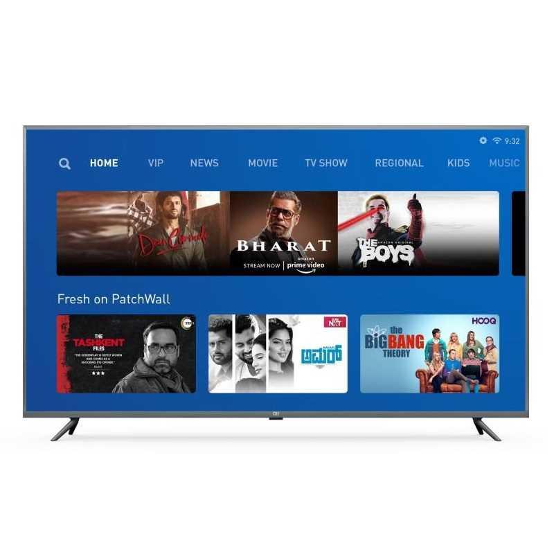 Xiaomi 4X L65M5-5SIN 65 Inch 4K Ultra HD Smart LED Television