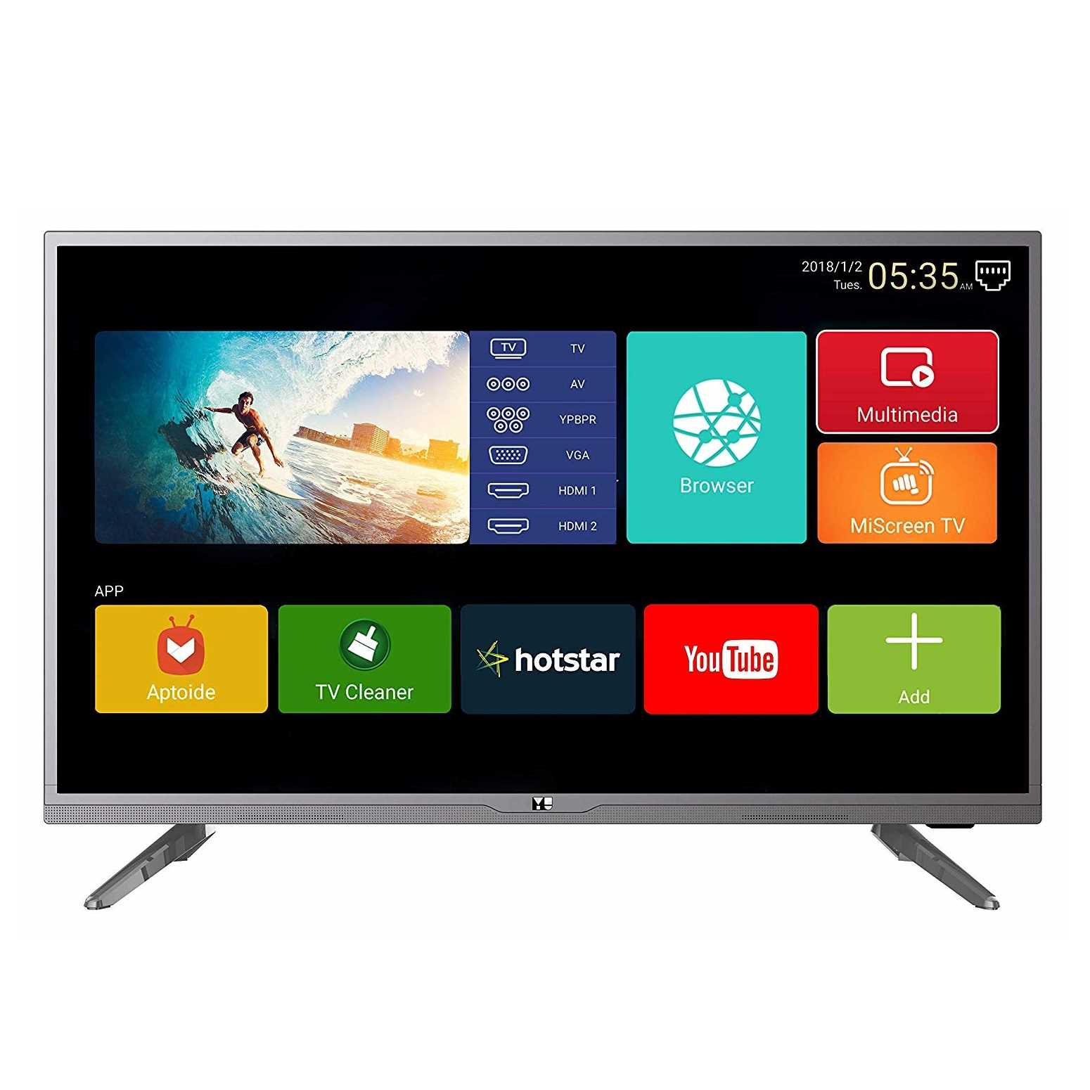 YU Yuphoria 40 Inch Full HD Smart LED Television