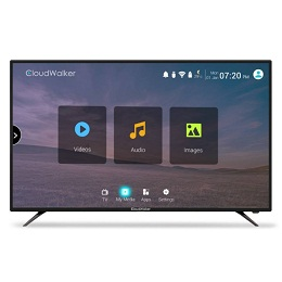 CloudWalker CLOUD TV 55SU 55 Inch 4K Ultra HD Smart LED Television