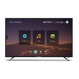 CloudWalker CLOUD TV 65SU 65 Inch 4K Ultra HD Smart LED Television