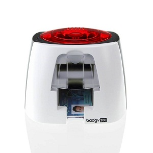 Evolis Badgy200 Thermal Transfer Single Function Printer