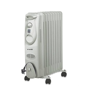 Gryphon 11 Fin Plain Oil Filled Room Heater