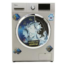 Midea MWMFL080CDR 8 Kg Fully Automatic Front Loading Washing Machine