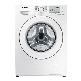 Samsung WW80J4213KW 8 Kg Fully Automatic Front Loading Washing Machine