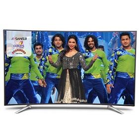 Sansui SNC65C519SA 65 Inch 4K Ultra HD Smart LED Curved Television