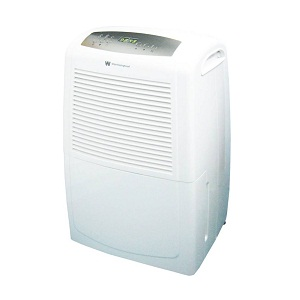 White Westing House WDE 50 Portable Room Air Purifier