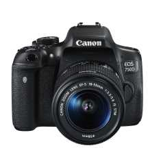 Canon EOS 750D Camera with 18-55 mm lens