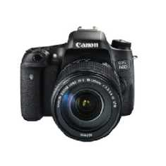Canon EOS 760D Camera with 18-135 mm lens