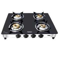 Maharaja Whiteline GS 105 4 Burner Manual Gas Stove