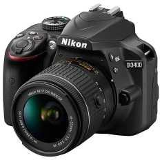 Nikon D3400 Camera with 18-55 mm lens