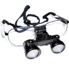 Binoscientific DL Dental Loupes 2.5x40 Binoculars(2.5x, 40mm)