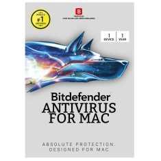 Bitdefender Antivirus For Mac 2017 1 PC 1 Year