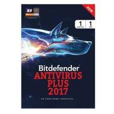 Bitdefender Antivirus Plus 2017 1 PC 1 Year