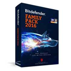 Bitdefender Family Pack Total Security 2016 1 PC 1 Year