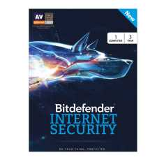 Bitdefender Internet Security 2017 1 PC 3 Year