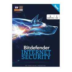Bitdefender Internet Security 2017 5 PC 1 Year