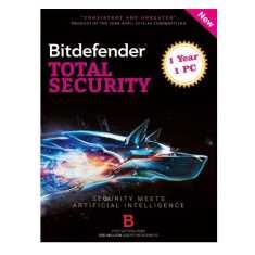 Bitdefender Total Security 2016 1 PC 1 Year