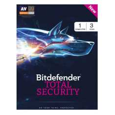 Bitdefender Total Security 2017 1 PC 3 Year