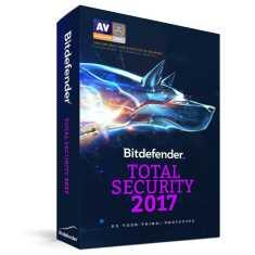 Bitdefender Total Security 2017 2 PC 1 Year