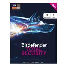 Bitdefender Total Security 2017 3 PC 1 Year