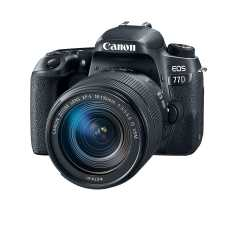Canon EOS 77D Camera with 18-135 mm lens