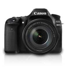 Canon EOS 80D with 18-135 mm Lens