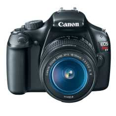 Canon EOS Rebel T3 Camera with 18-55 mm lens