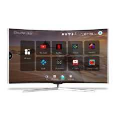 CloudWalker CLOUD TV 65SU-C 65 Inch 4K Ultra HD Smart Curved LED Television