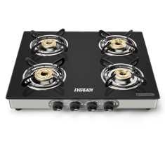 Eveready TGC4B 4 Burner Manual Gas Stove