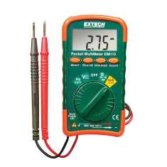 Extech DM110 Mini Pocket MultiMeter