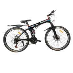 GoGo A1 Rockefeller UR022 26 Inch 21 Speed Folding Mountain Cycle