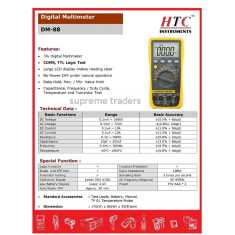 HTC DM88 Digital Multimeter