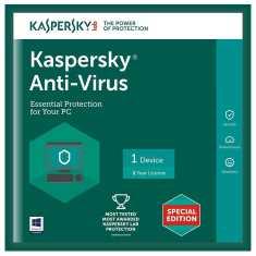 Kaspersky Antivirus 2016 New Slim Pack 1 PC 1 Year
