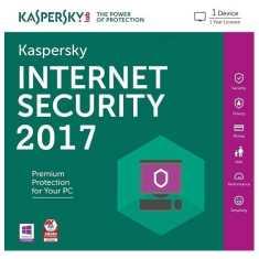 Kaspersky Internet Security 2017 1 User 1 Year