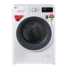 LG FHT1006ZNW 6 Kg Fully Automatic Front Loading Washing Machine