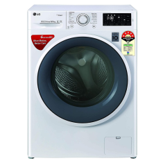 LG FHT1265ZNW 6.5 Kg 5 Star Fully Automatic Front Loading Washing Machine