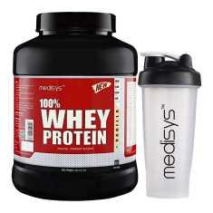 Medisys 100 Whey Protein Vanilla 2 Kg Free Shaker