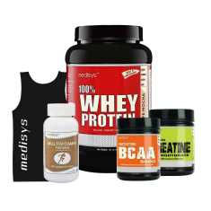 Medisys Bodybuilding Combo Cafe Mocha 1Kg Whey Protein