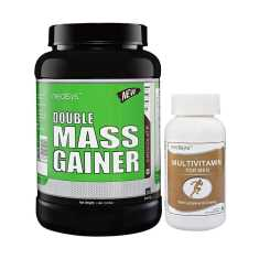 Medisys Double Mass Gainer Chocolate 1.5 Kg (Free Multivitamin)