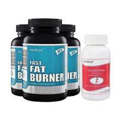 Medisys Fast Fat Burner Combo Pack of 3 Free Multivitamin for Women