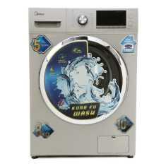 Midea MWMFL080CDR 8 Kg Fully Automatic Front Loading Washing Machine