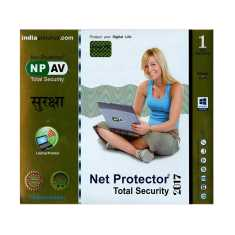 Net Protector Total Security 2017 1 PC 1 Year