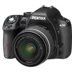 Pentax K 50 Camera with 18-55 mm lens