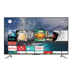 Sharp LC-60UA6800X 60 Inch 4K Ultra HD Smart LED Television