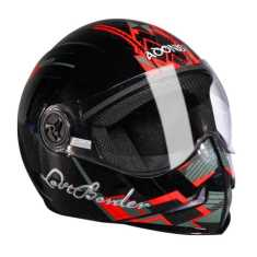 Steelbird SB Adonis Lost Border Motorbike Helmet