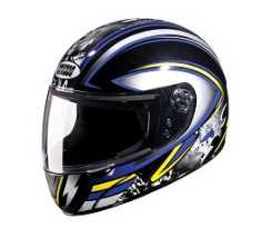 Studds Chrome Super D1 Motorsports Helmet