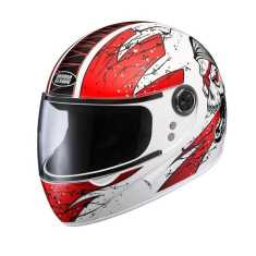 Studds Chrome Super D3 Helmet Motorsports Helmet